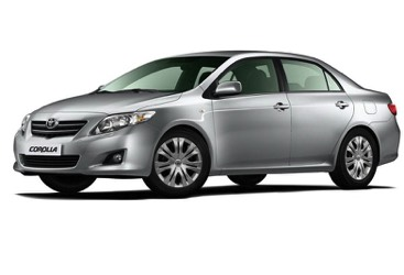 Corolla and Allion Sedan Rentals